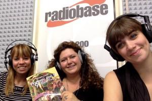 Elsa, Detta e Valeria a radiobase