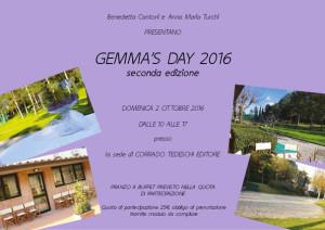 Gemma's Day 2016 - seconda edizione